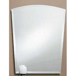 Best Reviews Prompton Obtuse Arched Bathroom/Vanity Mirror By Orren Ellis