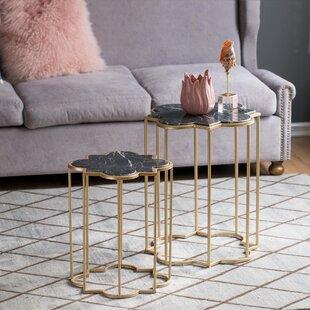 Claes 2 Piece End Table Set