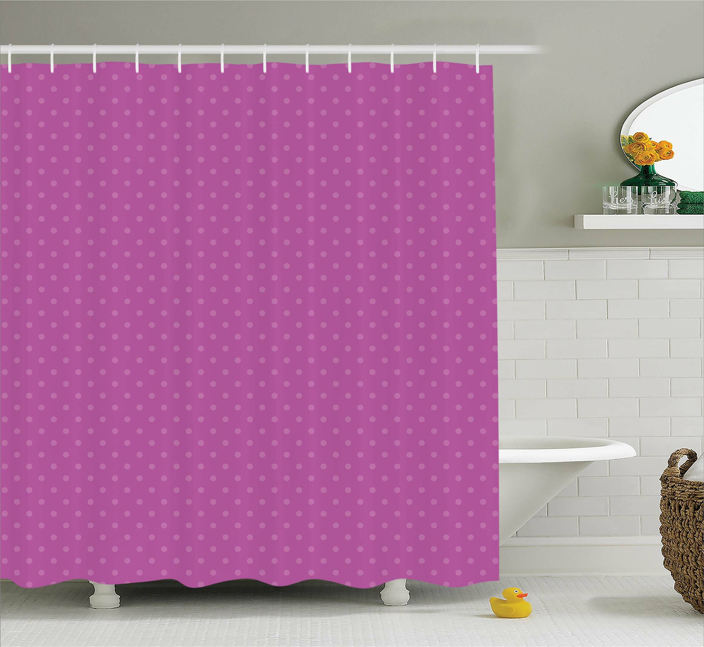 Emanuel Spots Polka Single Shower Curtain