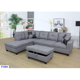 McGrew Sectional with Ottoman