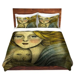 The Guardian Duvet Set by DiaNoche Designs