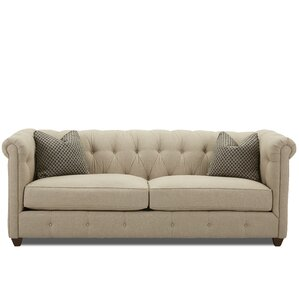 Kiana Chesterfield Sofa by Darby Home Co