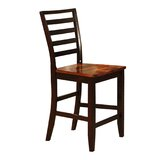 Solid Wood 24 Counter Stool (Set of 2) by Wildon Home®