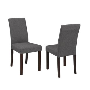 Shop for Schreiber Upholstered Dining Chair (Set of 2) by Charlton Home Reviews (2019) & Buyer's Guide