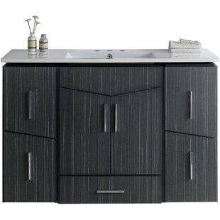 Kapp Modern Wall Mount 48 Single Bathroom Vanity Set By Royal Purple Bath Kitchen