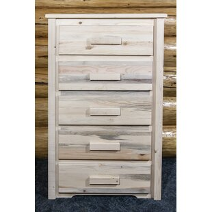 Katlyn 5 Drawer Standard Dresser/Chest by Mistana