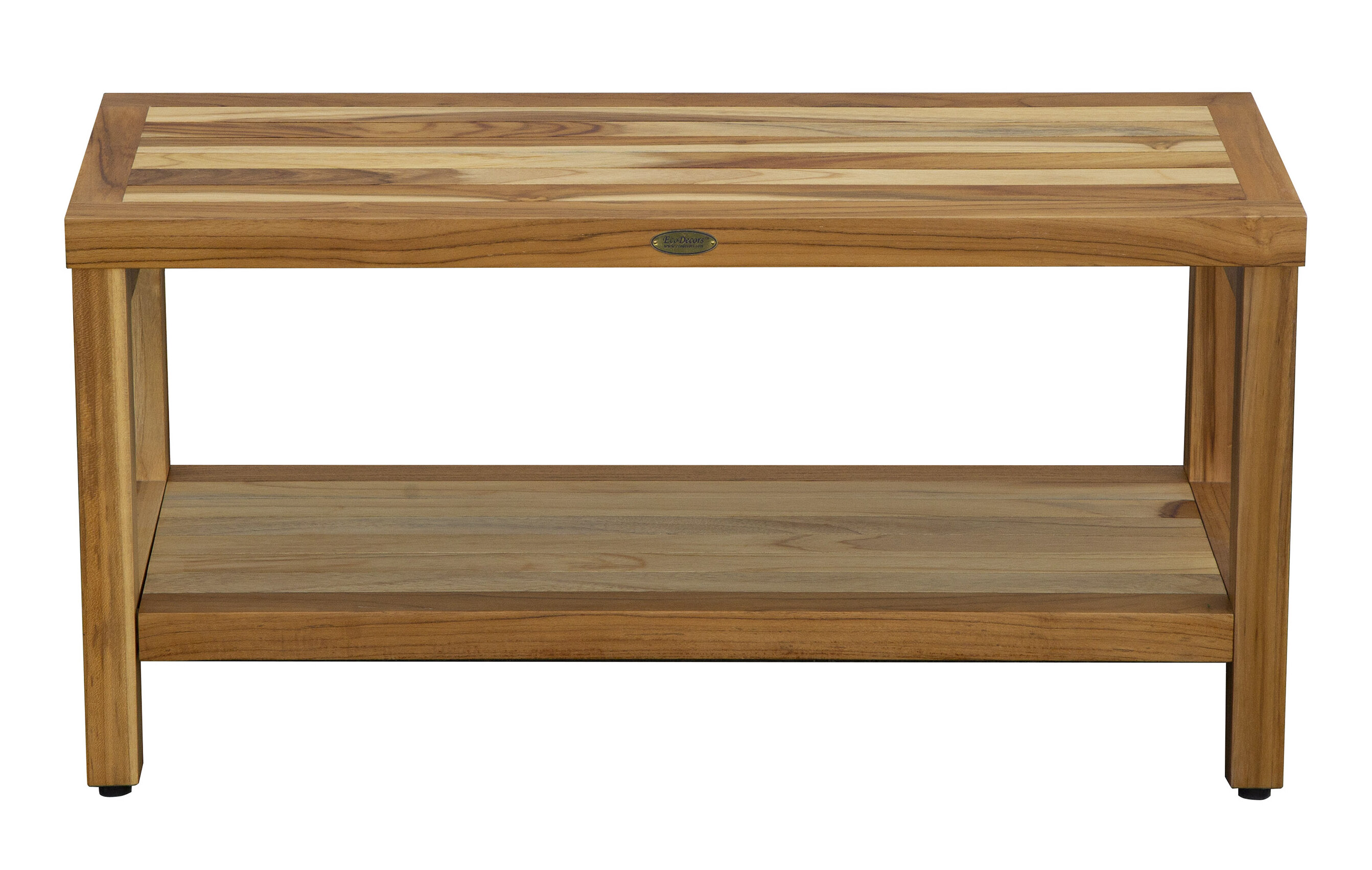 Brilliant Eleganto Teak Shower Bench Gmtry Best Dining Table And Chair Ideas Images Gmtryco