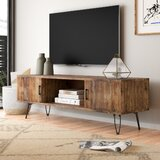 """Adger Solid Wood TV Stand for TVs up to 65"""""""
