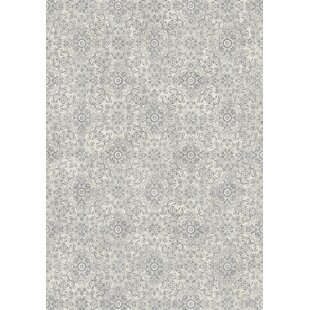 Attell Silver/Gray Area Rug by Astoria Grand