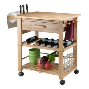 Finland Kitchen Cart by Luxury Home