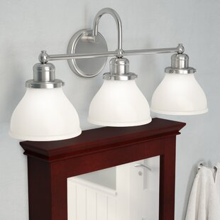 Chesterton 3-Light Vanity Light By Three Posts