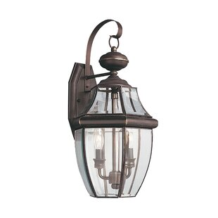 Laceyville 2-Light Outdoor Wall Lantern