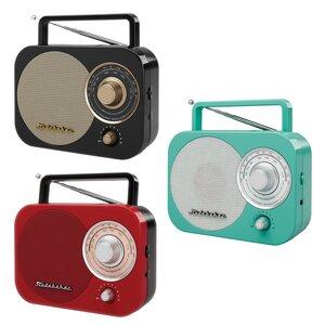 Retro Portable AM/FM Desktop Radio