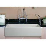 36 L x 18 W Single Bowl Fireclay Farmhouse Kitchen Sink