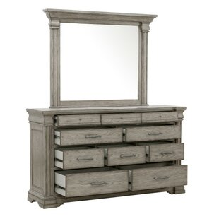 Goleta 10 Drawer Dresser with Mirror