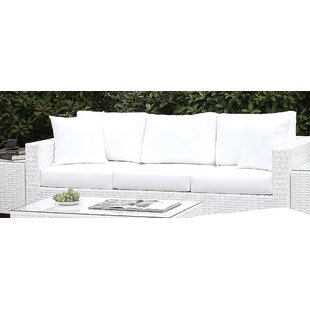 Kuhn Sofa with Cushion by Rosecliff Heights