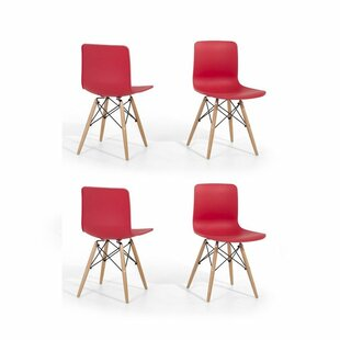 Online Reviews Eiffel Style Bobbitt Solid Wood Dining Chair (Set of 4) by Brayden Studio Reviews (2019) & Buyer's Guide