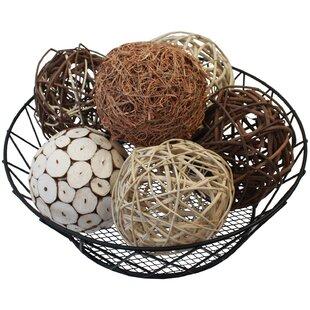 6 Piece Schall Decorative Balls for Bowls