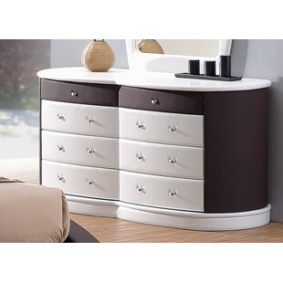 Roussel 8 Drawer Double Dresser