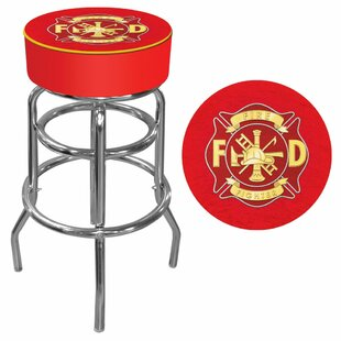31 Swivel Bar Stool Trademark Global