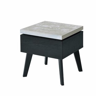 Hofmeister End Table by Wrought Studio