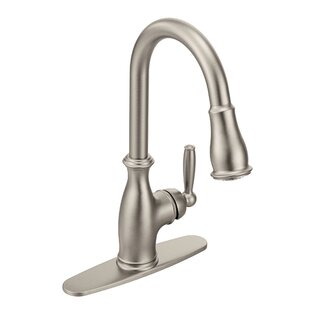 Brantford Pull Down Touch Single Handle Kitchen Faucet with PowerBoost and  Reflex
