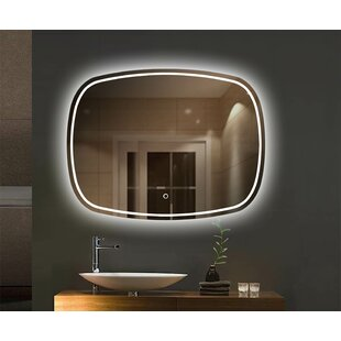 Aldfreck LED Bathroom/Vanity Mirror By Orren Ellis