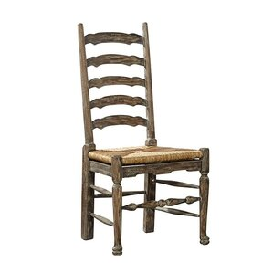 English Country Ladder Back Dining Chair by Furniture Classics LTD