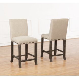 Sevigny Upholstered Dining Chair (Set of 2) Gracie Oaks