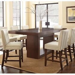 Brayden Studio Antonio Counter Height Dining Table & Reviews   Wayfair