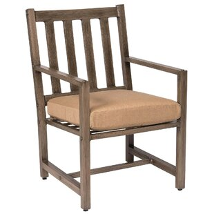 Woodlands Patio Dining Chair by Woodard Fresh