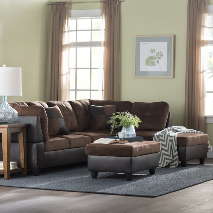 Magnificent Russ Sectional With Ottoman Alphanode Cool Chair Designs And Ideas Alphanodeonline