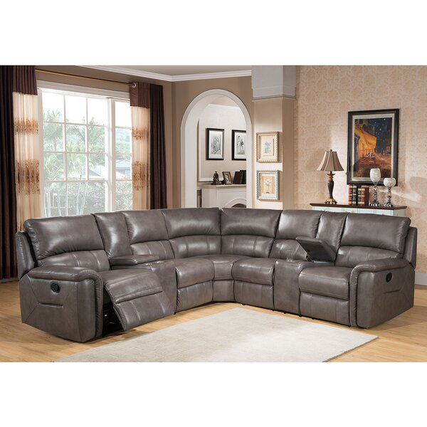 sc 1 st  Wayfair : leather reclining sectional - islam-shia.org