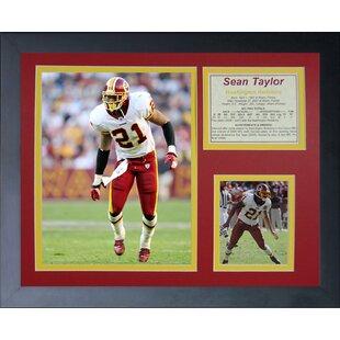 Sean Taylor Home Framed Memorabilia By Legends Never Die