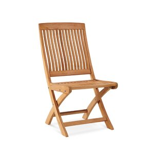 Godwin Folding Teak Patio Dining Chair