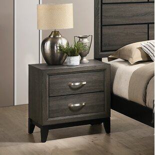 Macy 2 Drawer Nightstand by Wrought Studio