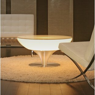 Micaela LED Plastic Coffee Table