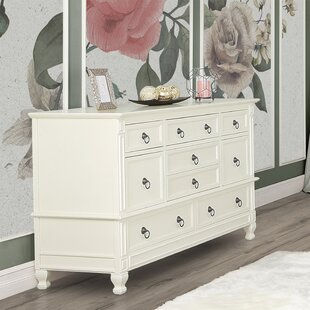 Clearance Adele 8 Drawer Double Dresser by Evolur Reviews (2019) & Buyer's Guide