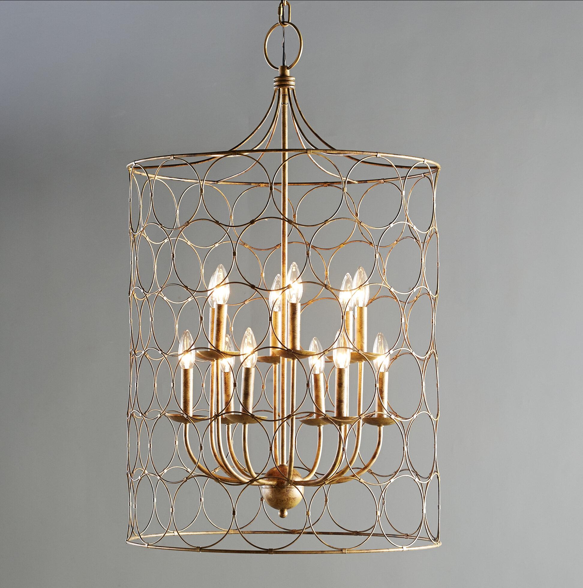 Laurel Foundry Modern Farmhouse Flores 12-Light Lantern Pendant ...