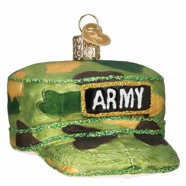 Old World Christmas Army Cap Hanging Figurine Ornament Wayfair