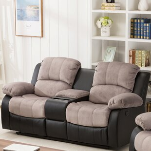 Find Brunswick Console Reclining Loveseat by Ebern Designs Reviews (2019) & Buyer's Guide