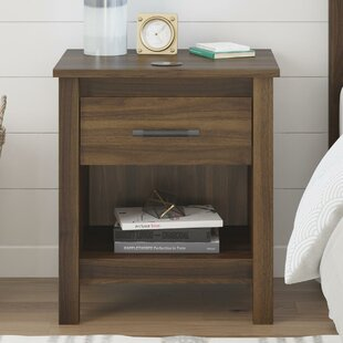 Valeria 1 Drawer Nightstand