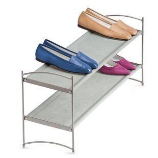 Reviews Vela 12 Pair Stackable Shoe Rack By Lynk®