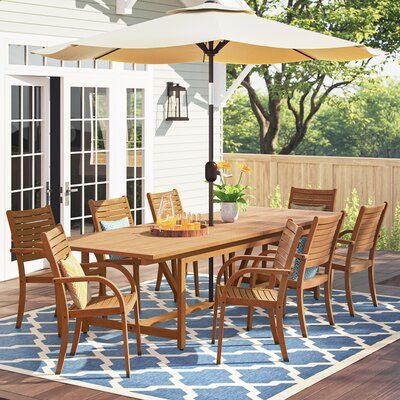 Brighton 9 Piece Dining Set by Sol 72 Outdoor Great price