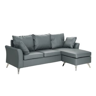 Zariyah Reversible Sectional by Orren Ellis 2019 Coupon