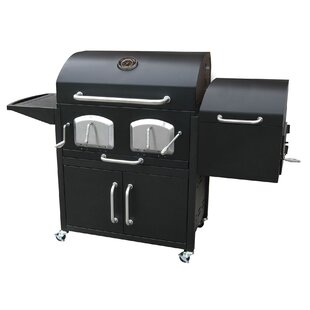 Bravo Premium Charcoal Grill with Smoker by Landmann