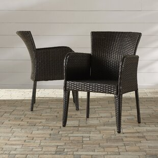 Woodard Patio Dining Chair (Set of 2)