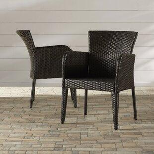 Woodard Patio Dining Chair (Set of 2)
