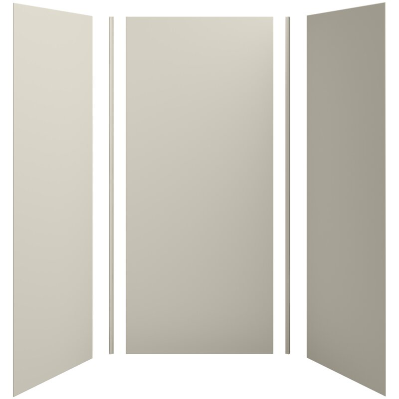 decorative glass block borders for a shower wall or windows.htm kohler choreograph 42  x 36  x 96  shower wall kit wayfair  kohler choreograph 42  x 36  x 96