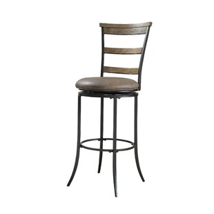 Rude 30 Swivel Bar Stool Gracie Oaks